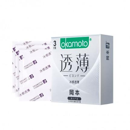 超薄体贴-冈本-冈本 新透薄系列冰感透薄避孕套 中号 3/10只装