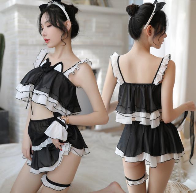 性感裙装-霏慕-霏慕 性感猫女套装