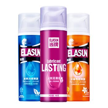 人体润滑-ELASUN尚牌-ELASUN尚牌持久快感润滑液 60g
